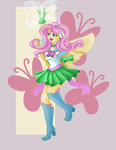 Sailor Fluttershy v2 by dreamerswork