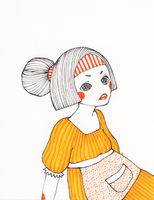 Orange Girlie by rhuu