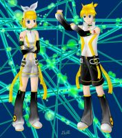 Welcome Kagamine Appends by 331060