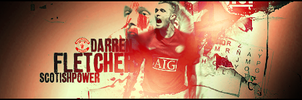 Darren Fletcher Football Sig by DavidVilla7