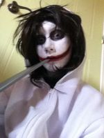 Halloween Costume - Jeff the Killer by LovePegacorn