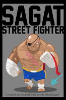Sagat - King of Muay Thai by Littl-Big-Kahuna