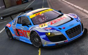 Zent Audi R8 LMS '12 by QtoR