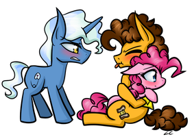 Rivals...which ship is better? by LittleCloudie