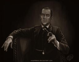 Jeremy Brett as Holmes 01 by Windfreak
