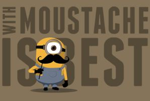 Minions Moustache by Guidux92