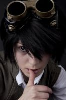 Steampunk L lawliet Cosplay by SmartCasualTrousers