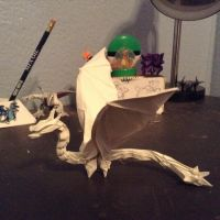 Dragon by Charles Esselstine with variations by cmwacker99