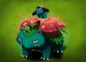 Bulbasaur family