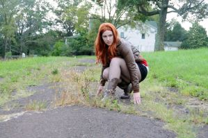 Amy Pond - On Solid Ground by moonflower-lights