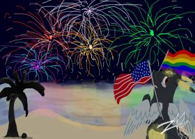 Independence day~ by Zoruleaf