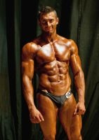 Bodybuilding competition 06 by vishstudio