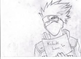 Kakashi WIp 2 by negative-creeq