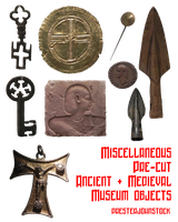 Pre-cut Ancient and Medieval Objects by presterjohnstock