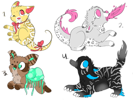 Creature Adopts Batch #2 - Open by CatFeed