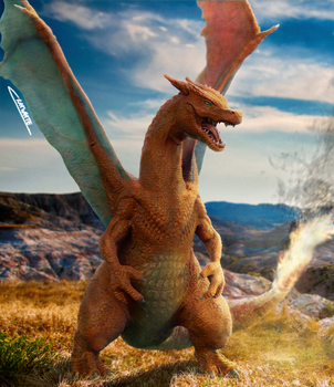 Realistic Charizard!! by Chenks-R