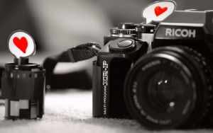 Love camera Wallpaper by Isfe