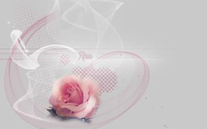 Rose PreMade BG 2 by VaL-DeViAnT