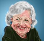 Betty White by adavis57