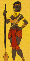 Ebana the She-Panther by DaBrandonSphere