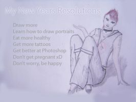 New Years Resolutions by ReficulNatas