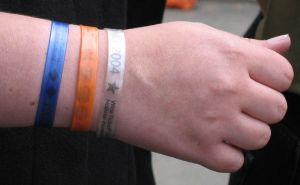 Multiple wristbands by Secretlondon