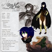 Charon - Character Card by Noire-Ighaan