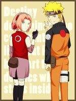NaruSaku--By your side by windwillows