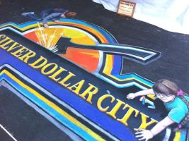 Silver Dollar City by AmazingStreetPaint