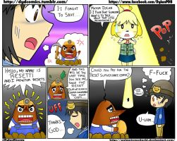 MiniComic 9 - Animal Crossing New Leaf [ENG] by animetomodachi