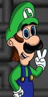 Luigi New-Styled by LuigiStar445