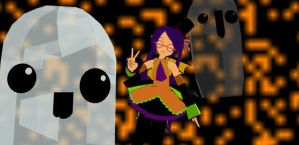 Hallolita and Ghostie-DOWNLOAD by CaramelChocolatez
