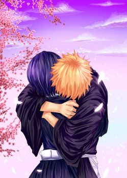 Ichiruki - Hug by gone-phishing