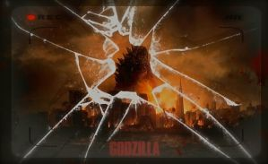 Godzilla 2014 Poster by HisWeskerness