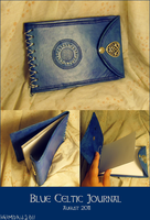 Blue Celtic Journal by TheScreamingNorth