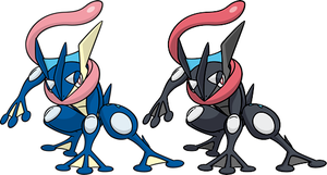 Shiny Greninja Dream World by KrocF4
