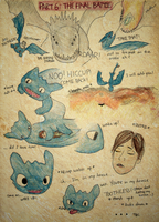 HTTYD Hiccup + Toothless PART6 by vivsters