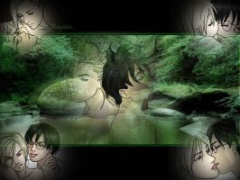 Harry, Draco, and the forest by RyuichiYaoiTenshi