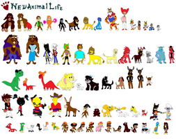 New Animal Life 2 by tomyucho