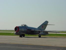 MIG-15 at Cleveland by SwiftFlyer