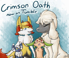 Crimson Oath Tumblr by Hawkein