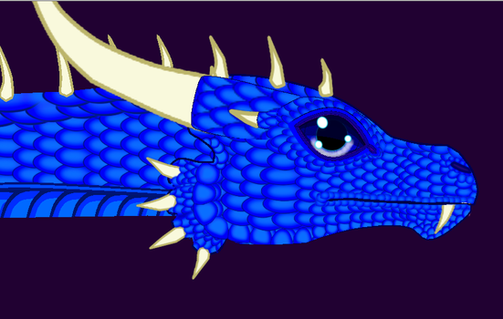 Saphira Scaly by Lost-Shadow-Creature