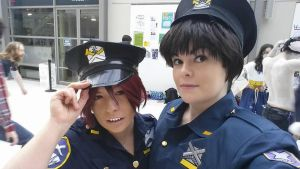 Police Rin sousuke by Lightninglouise