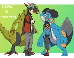 Carter vs Nero by Grimmby