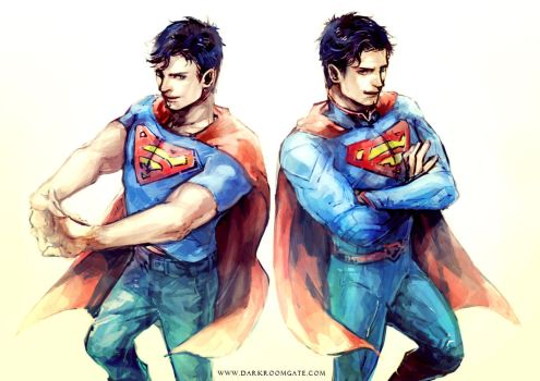 Superman by Haining-art
