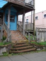 Old Stairs by Treeclimber-Stock