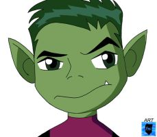 Beast Boy by WaterEmi by teentitans
