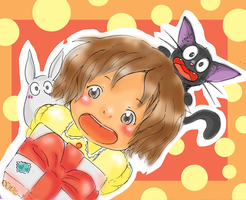 Happy B'Day : Color me contest by asami-h