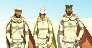 3 Fremen by Sketchphase