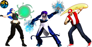 The King of Fighters Fan MODELS 3D by sidneymadmax